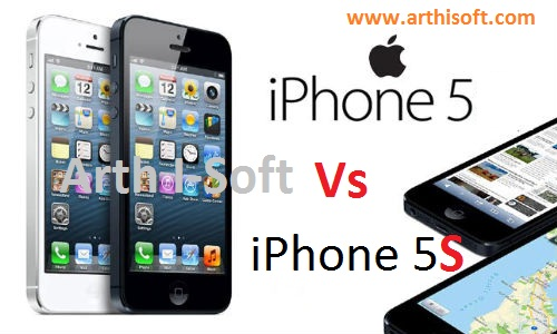 iPhone 5 vs iPhone 5S - Comparison