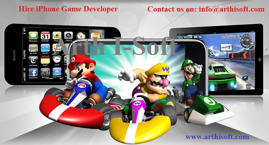 Hire iPhone Game Developer Form Best iPhone Game Development Company